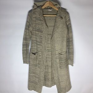 Sweaters - Sienna Sky long hooded sweater